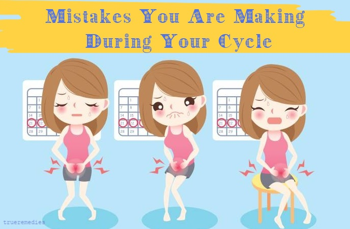 menstrual period diet - mistakes you are making during your cycle