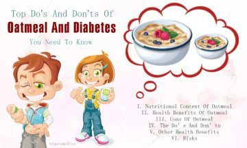 do's and don'ts of oatmeal and diabetes