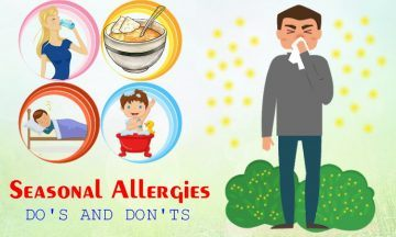 seasonal allergies do's and don'ts you should know
