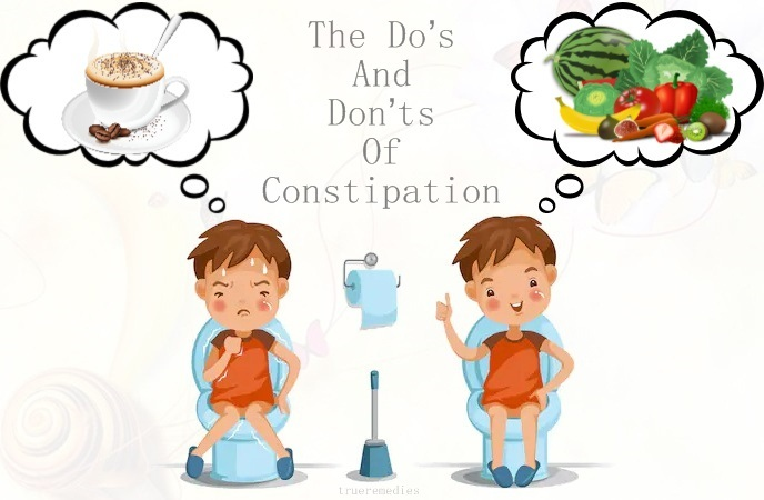 do's and don'ts of constipation - the do's and don'ts of constipation