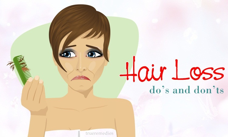 hair loss do's and don'ts that you should know