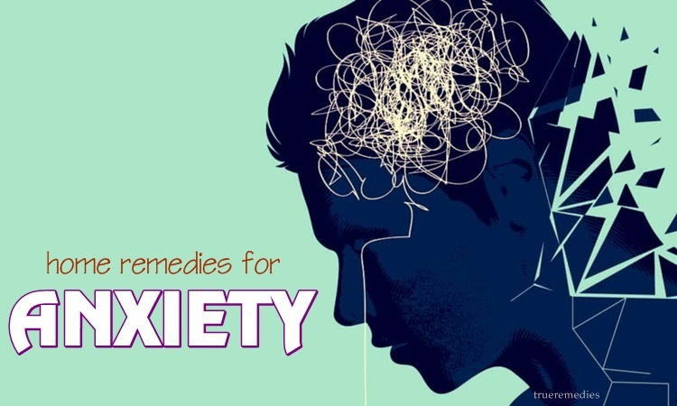 natural home remedies for anxiety