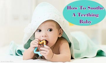 tips on how to soothe a teething baby