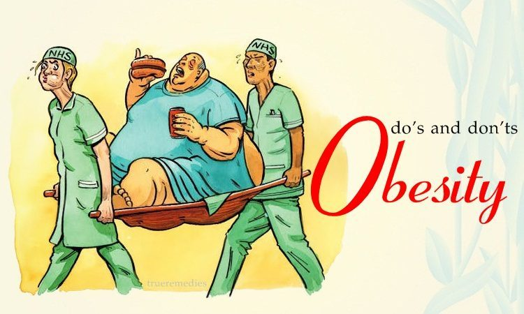 obesity do's and don'ts you must follow