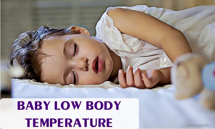dealing with baby low body temperature