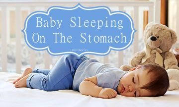 baby sleeping on the stomach: benefits, tips, & notes