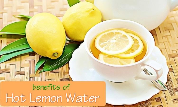 benefits of hot lemon water on health