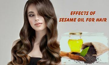 unexpected effects of sesame oil for hair
