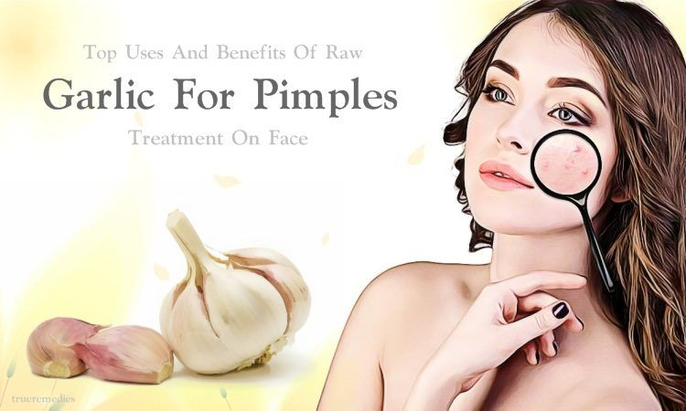 garlic for pimples treatment