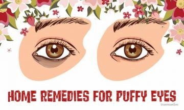 home remedies for puffy eyes from allergies