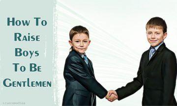 boys to be gentlemen