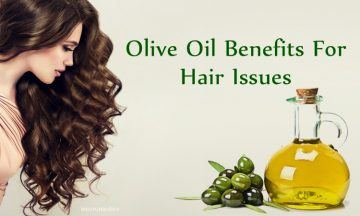olive oil benefits for hair issues: dry hair and dandruff