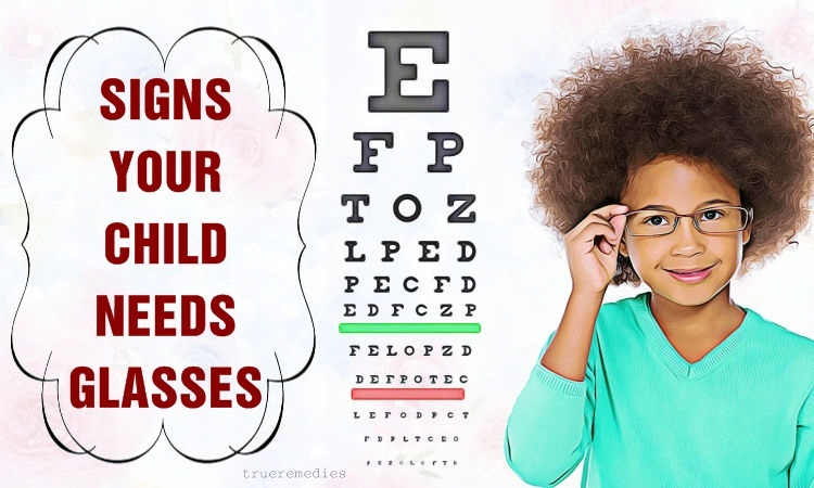 warning signs your child needs glasses