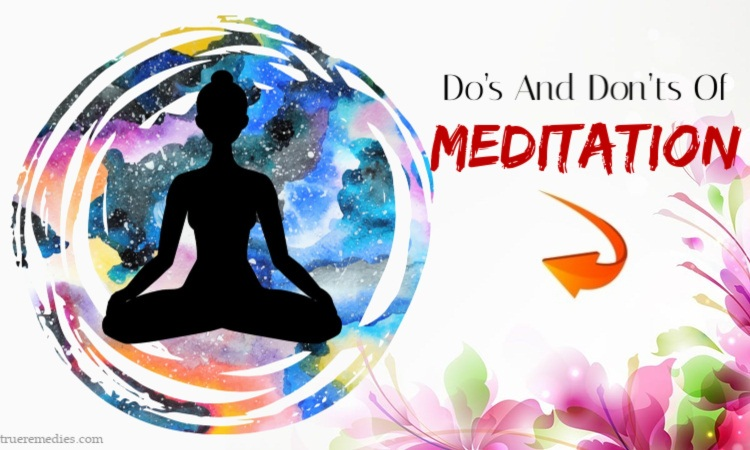 do's and don'ts of meditation for beginners