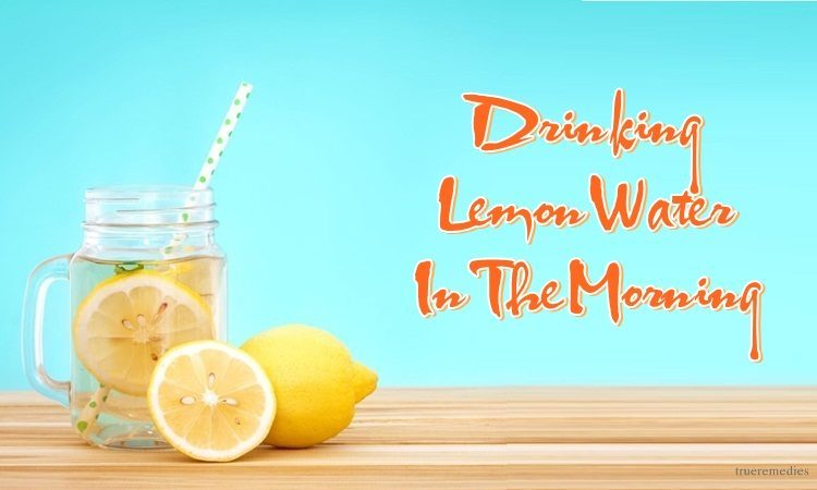 benefits of drinking lemon water in the morning