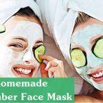 cucumber face mask for sensitive skin