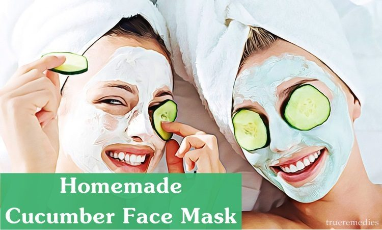 cucumber face mask for sensitive skin
