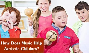 how does music help autistic children to develop skills