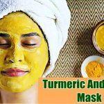 turmeric and honey mask for dark spots