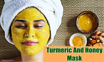 turmeric and honey mask for dark spots