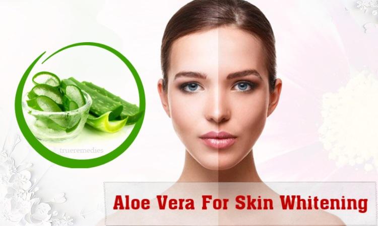 benefits of aloe vera for skin whitening