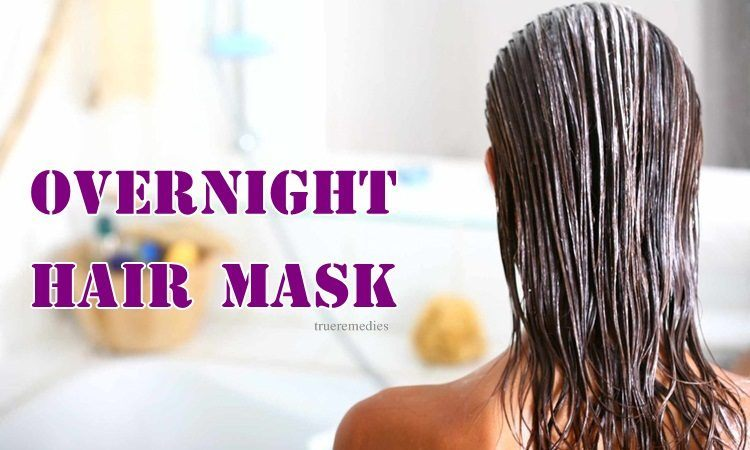 homemade overnight hair mask